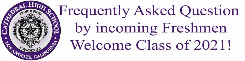 Frequently Ask Questions asked by incoming Freshmen Parents Thumbnail Image