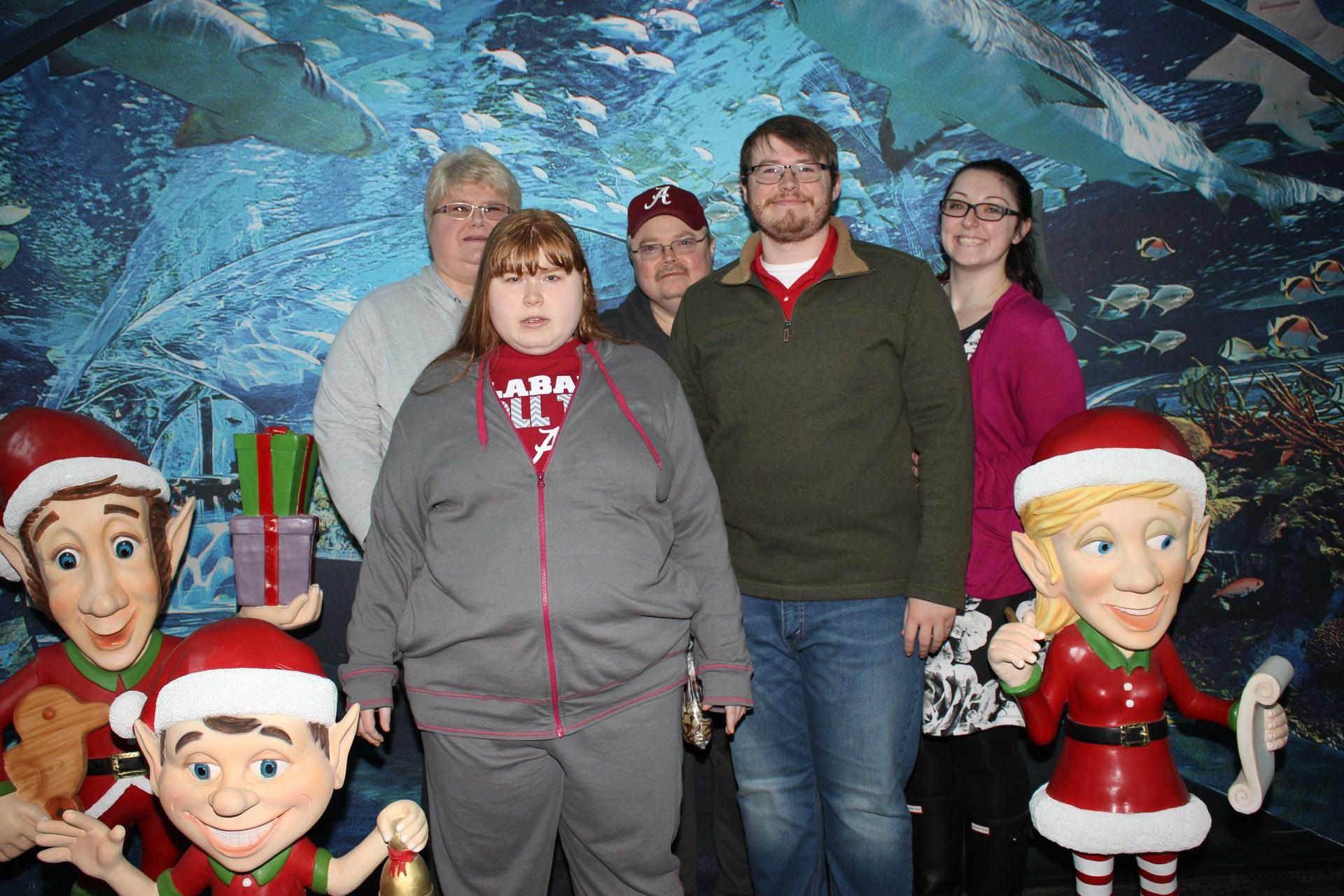 Kathy, Heather, Donald, Timothy, Sarah