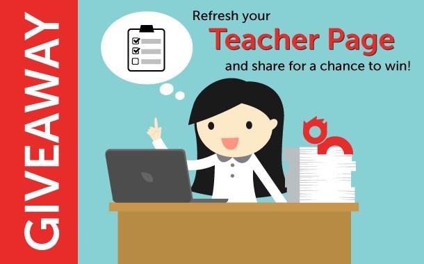 Teacher Pages Contest