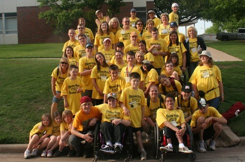Group photo of Special Olympics Team