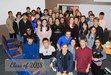 Class of 2018 at a Christmas party