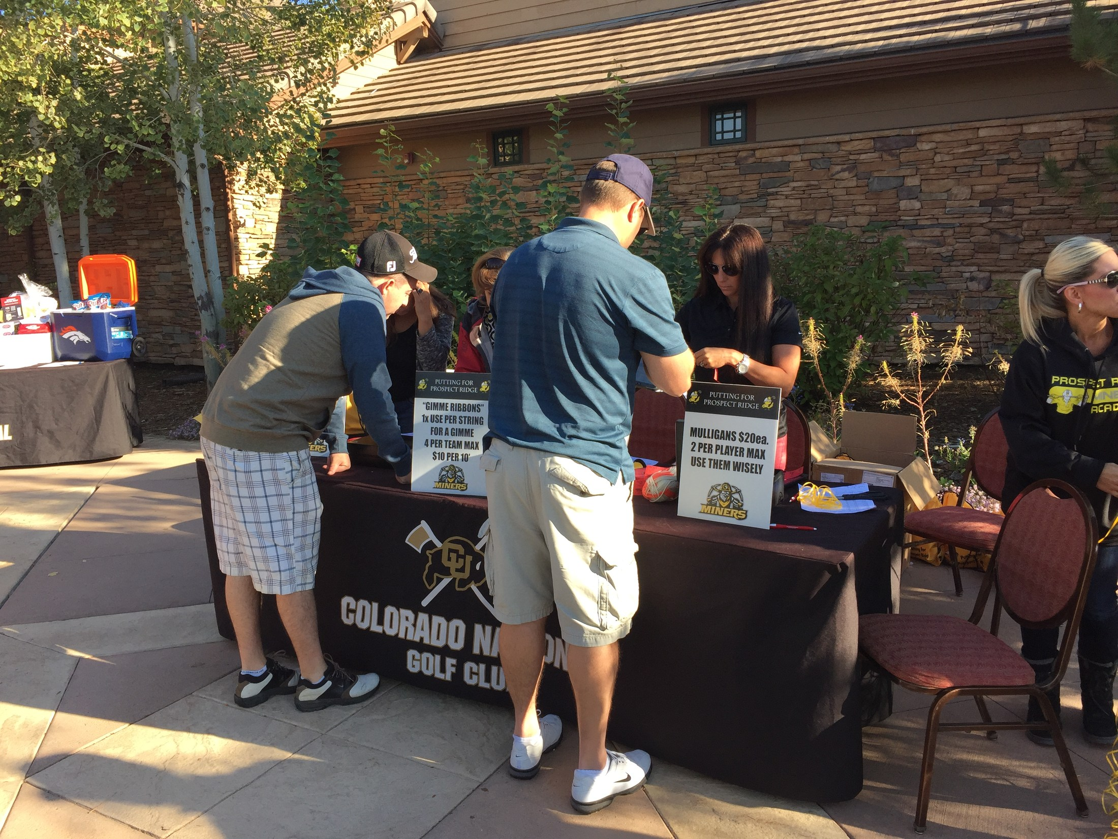 Registering for PRA Golf Tournament