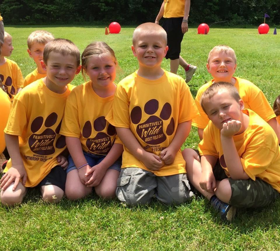 Merritt Elementary Field Day