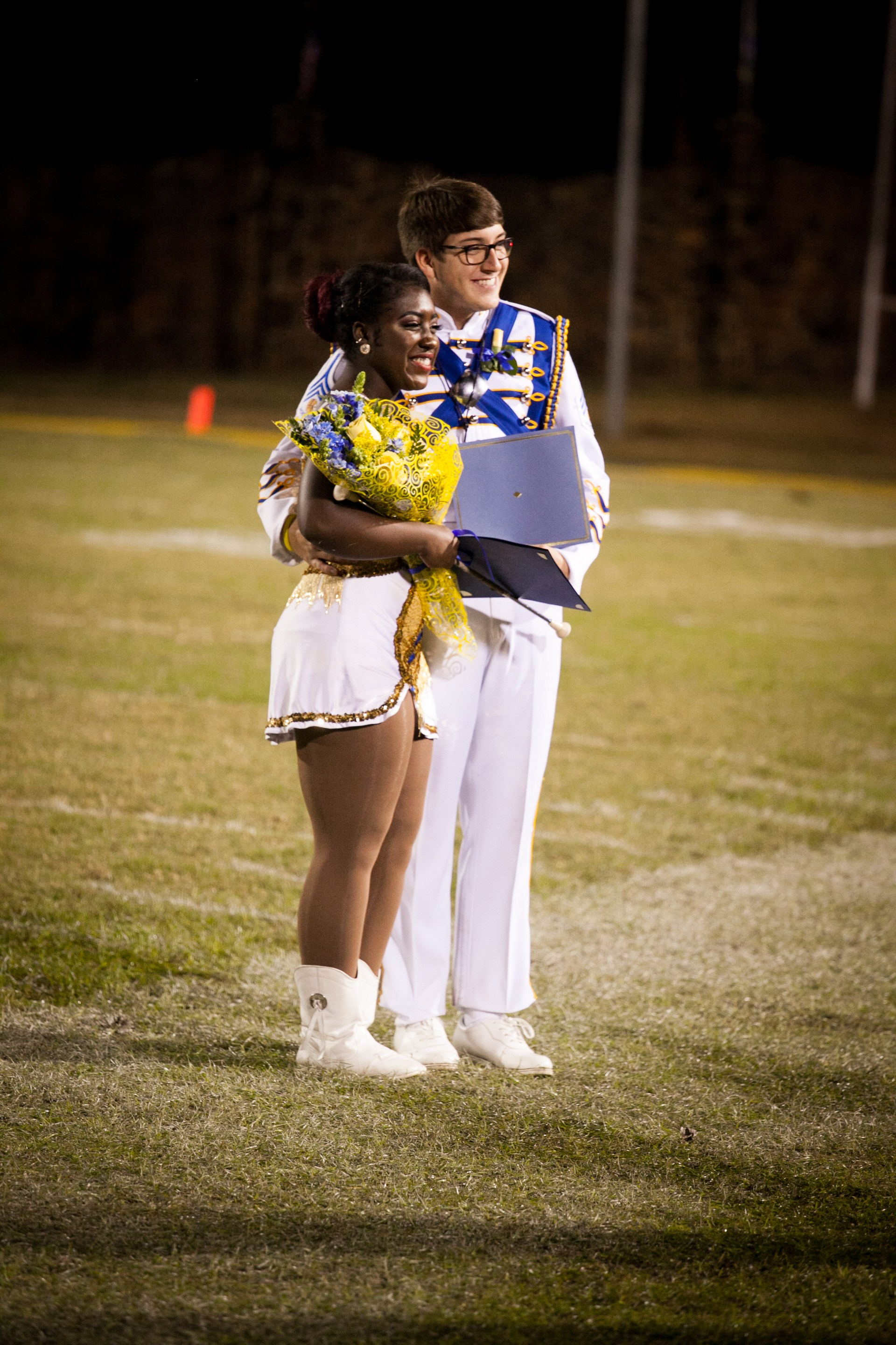 Band Sweetheart and Beau