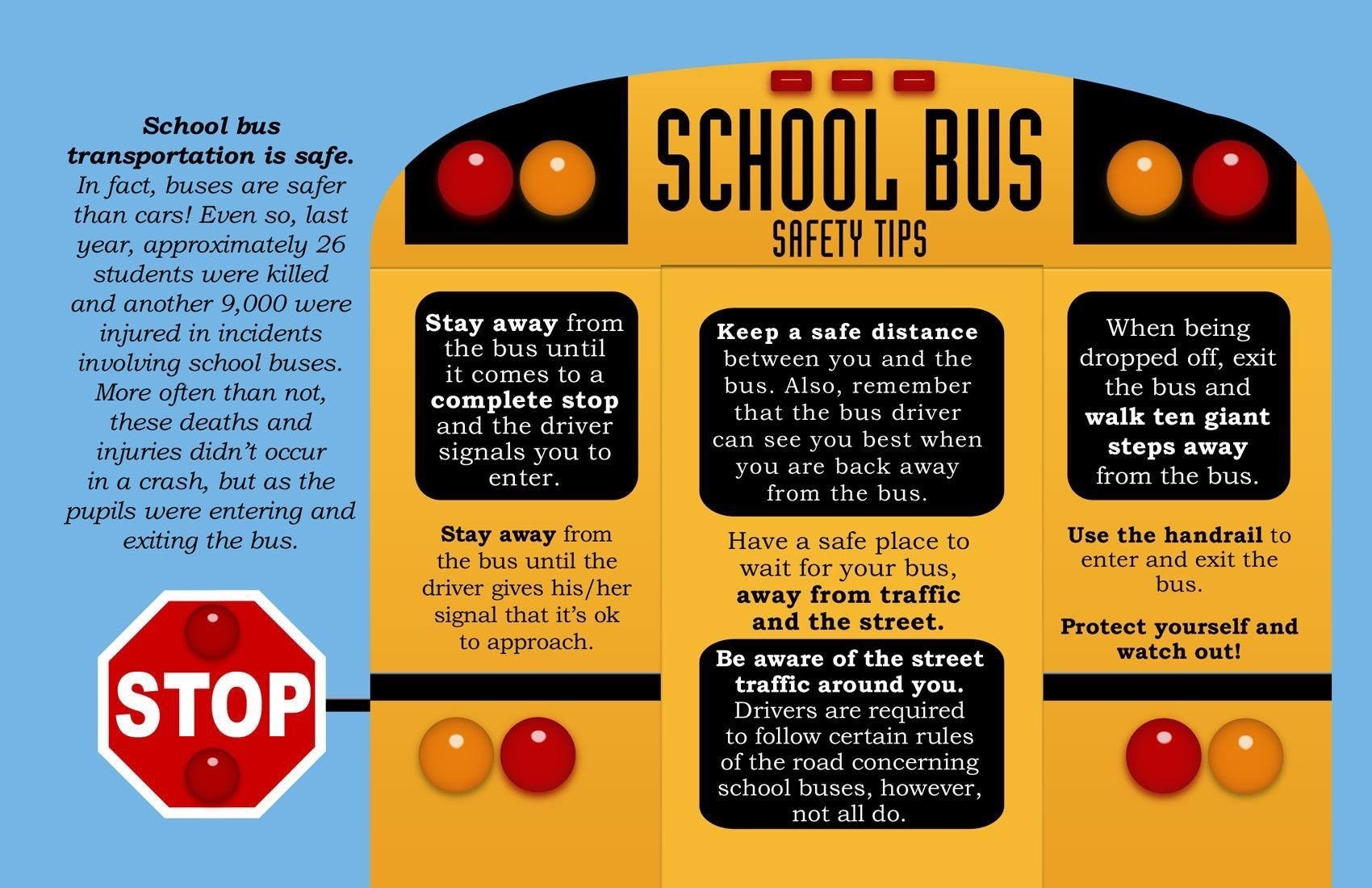 School Bus Safety Flyer