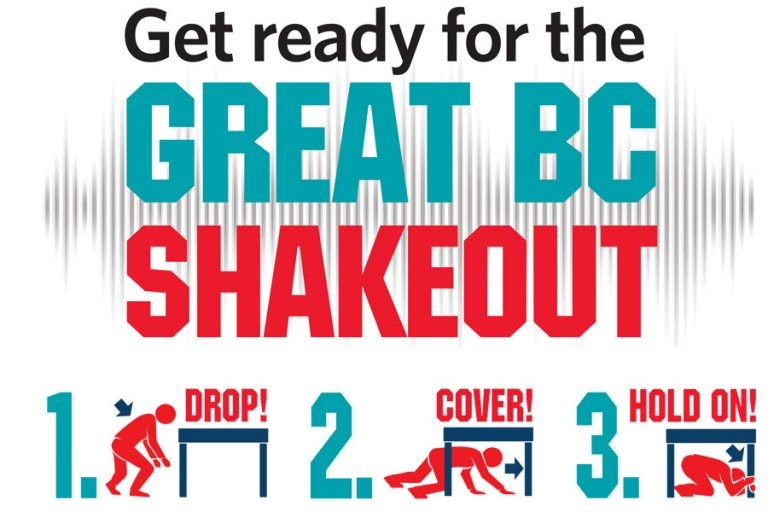 Great Shake Out Featured Photo