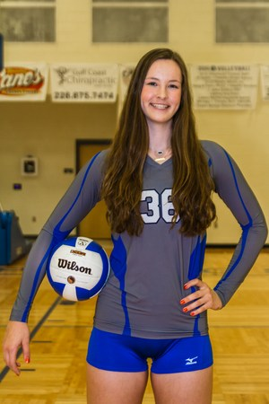 OSHS Volleyball Player Amelia Moore