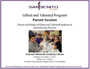GT Parent Session