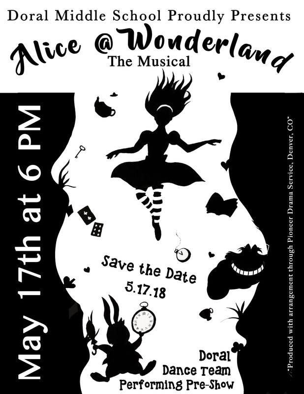 Middle School Student Performance of Alice @ Wonderland! Thumbnail Image