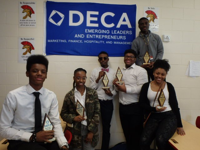 Our Trojan DECA students