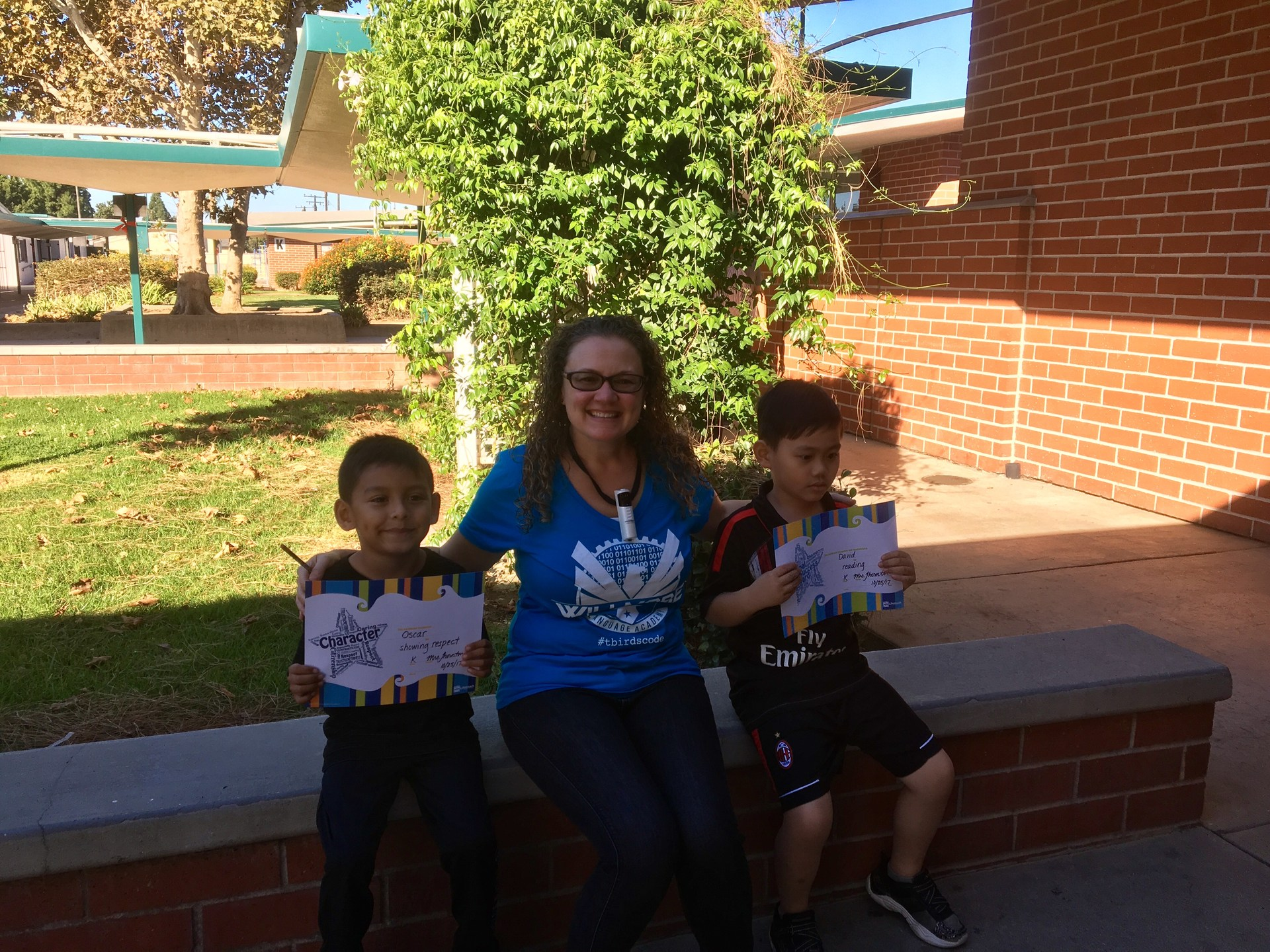 Mrs. Thornton's October Honorees