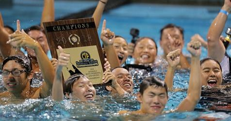 Rowland High School Swim Wins
