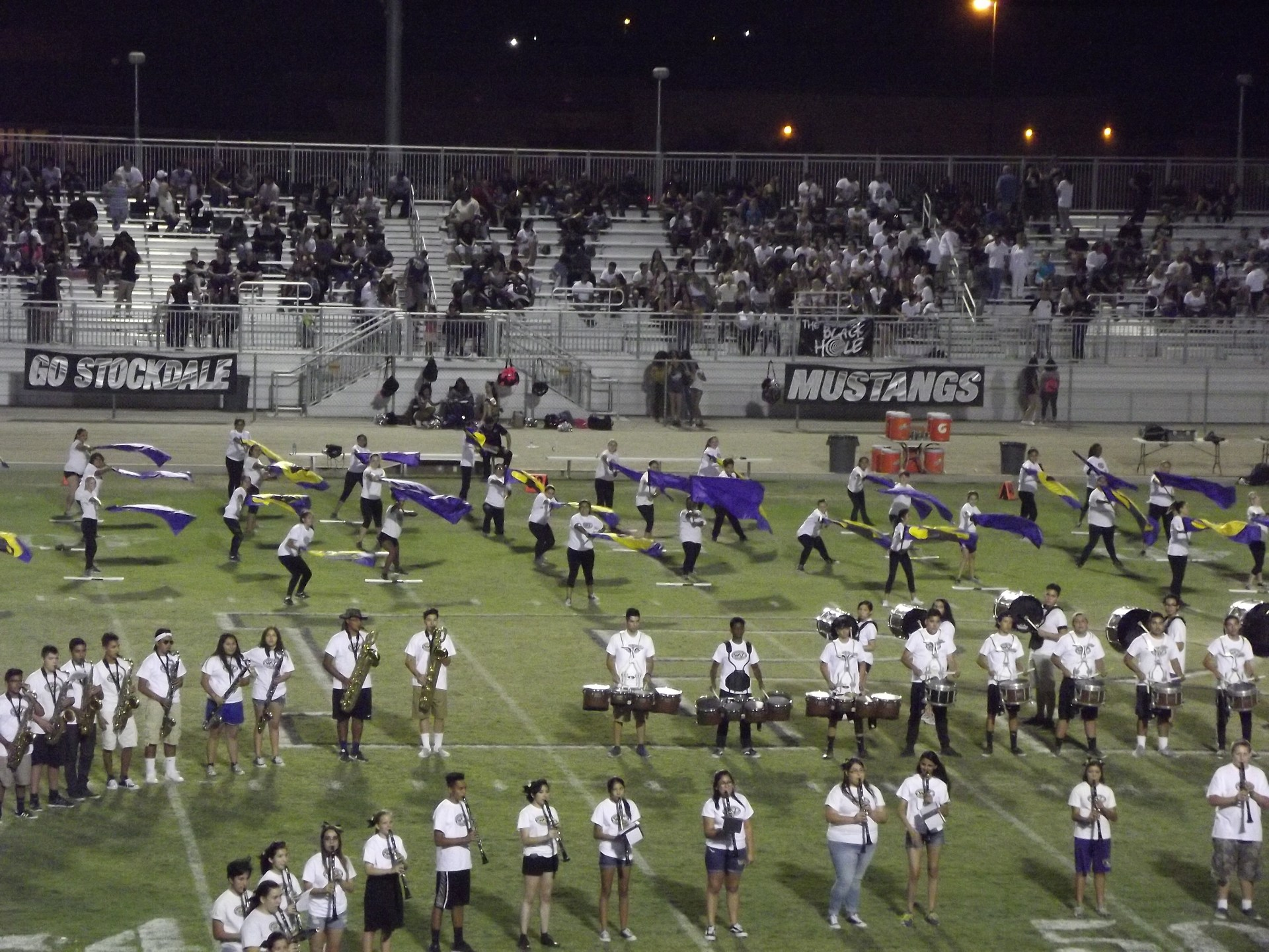 Band Picture from Stockdale Game