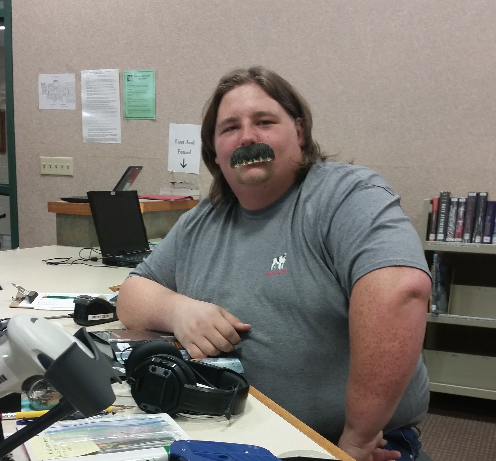 Brock Pellam Mustache