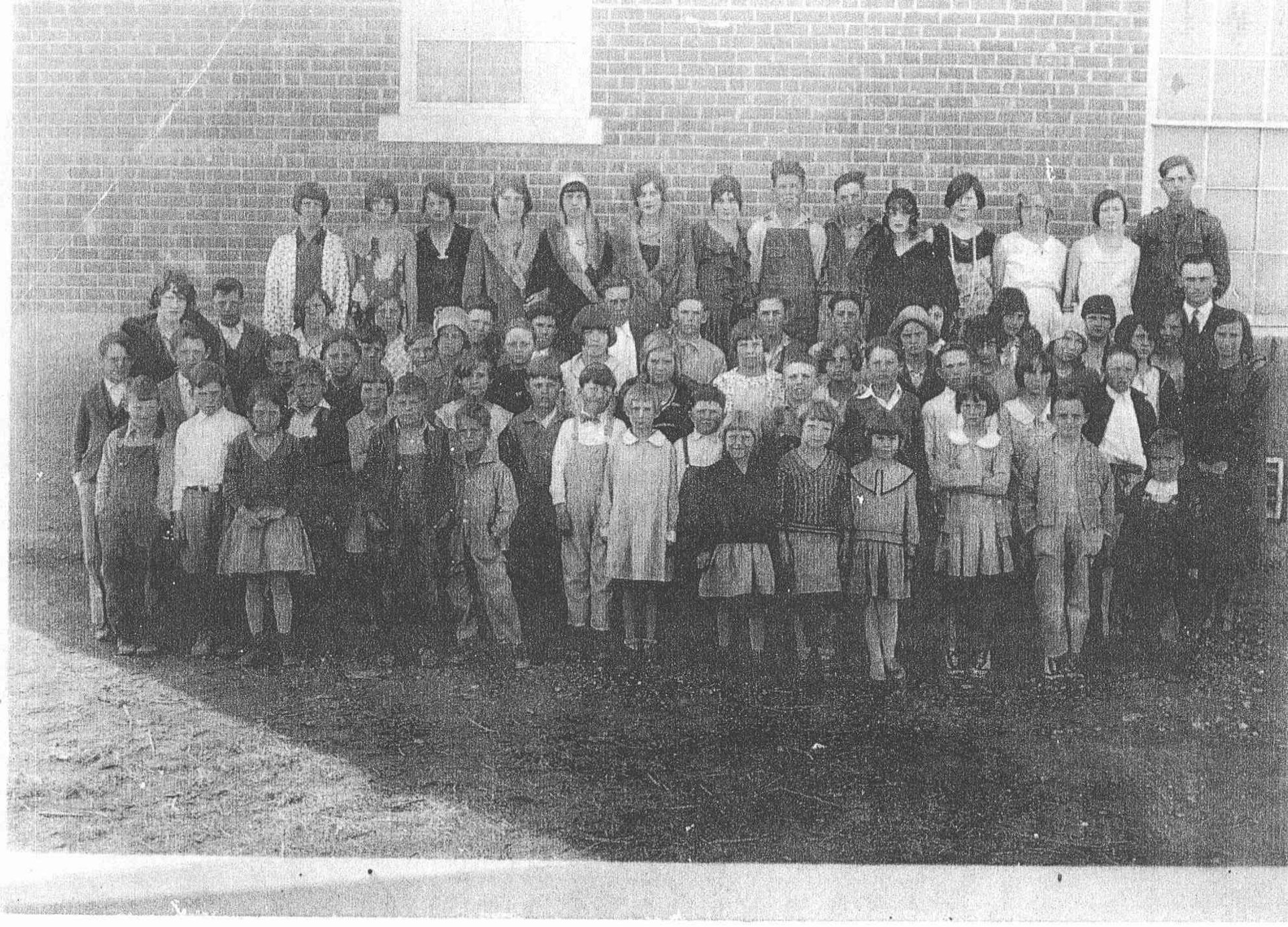 Grape Creek School - 1928