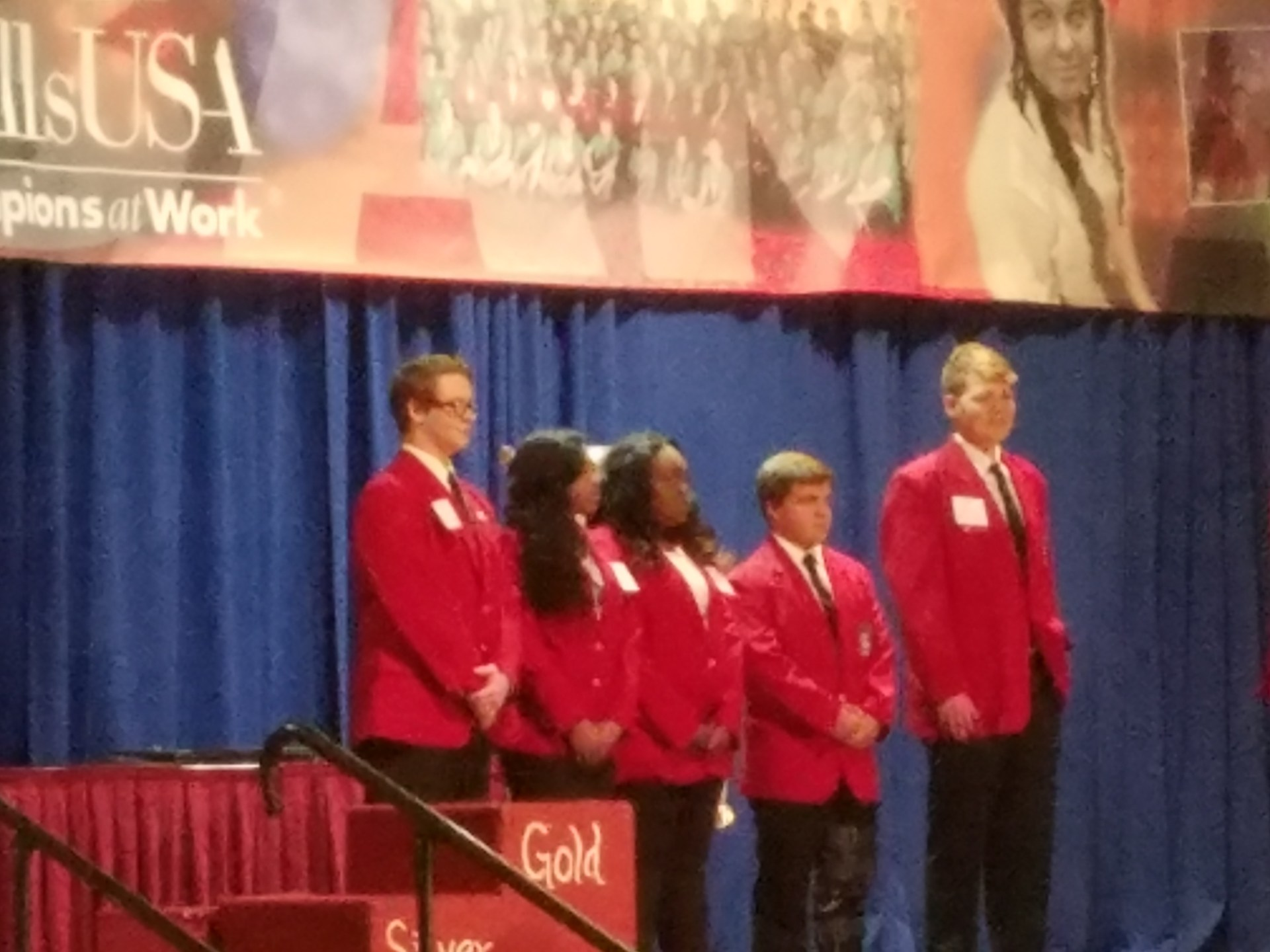 SkillsUSA state Conference.
