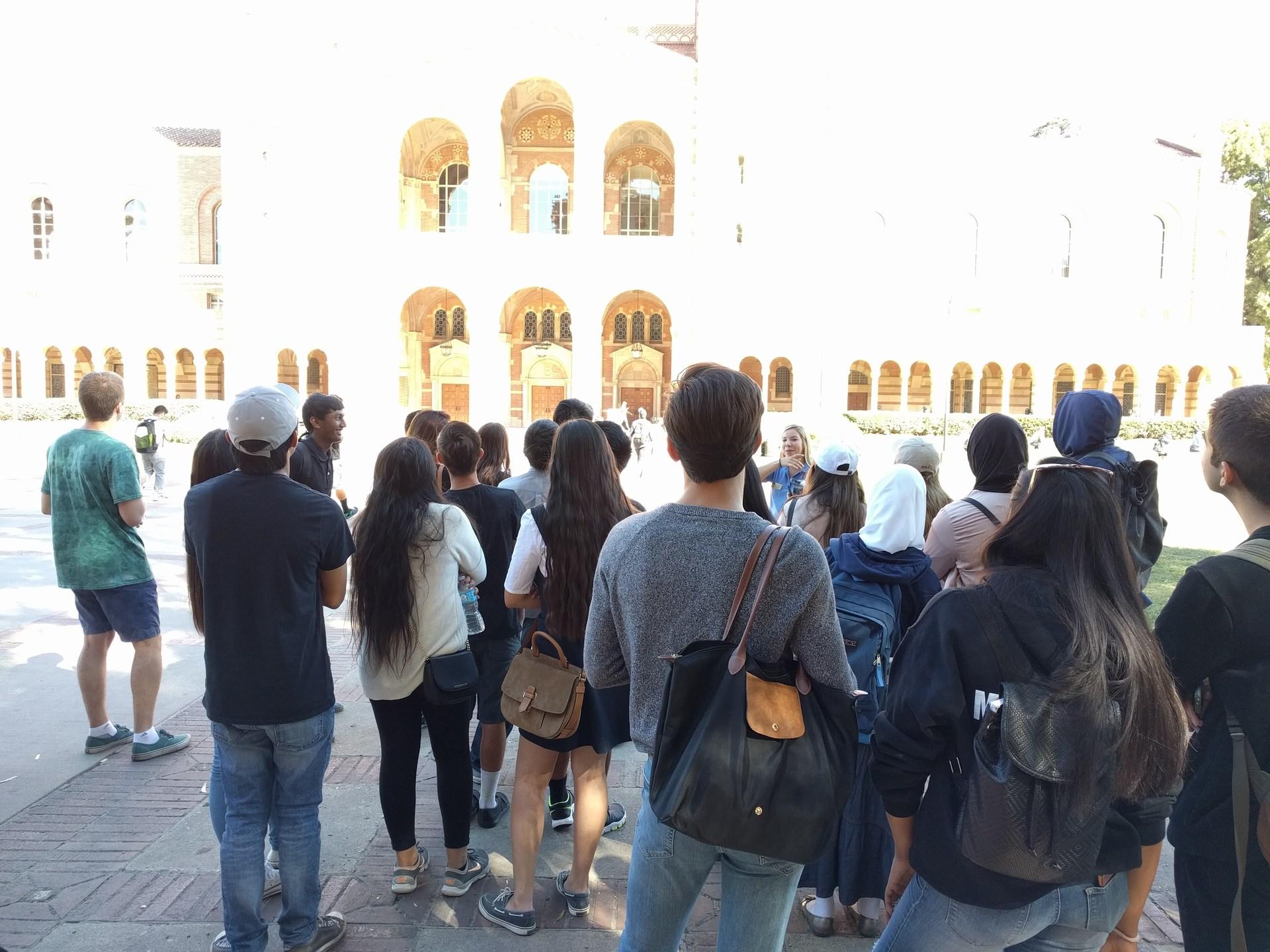 UCLA visit