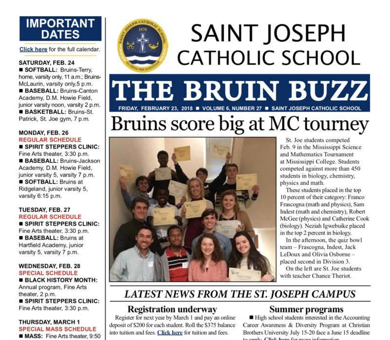 THE BRUIN BUZZ: FRIDAY, FEB. 23 Thumbnail Image