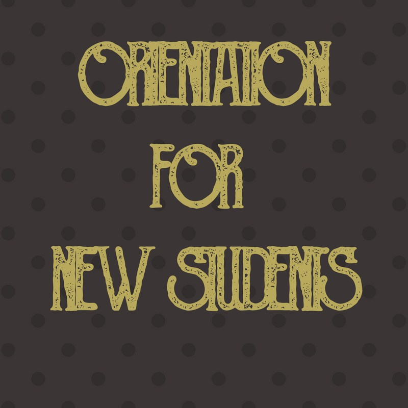Orientation for New Students Thumbnail Image