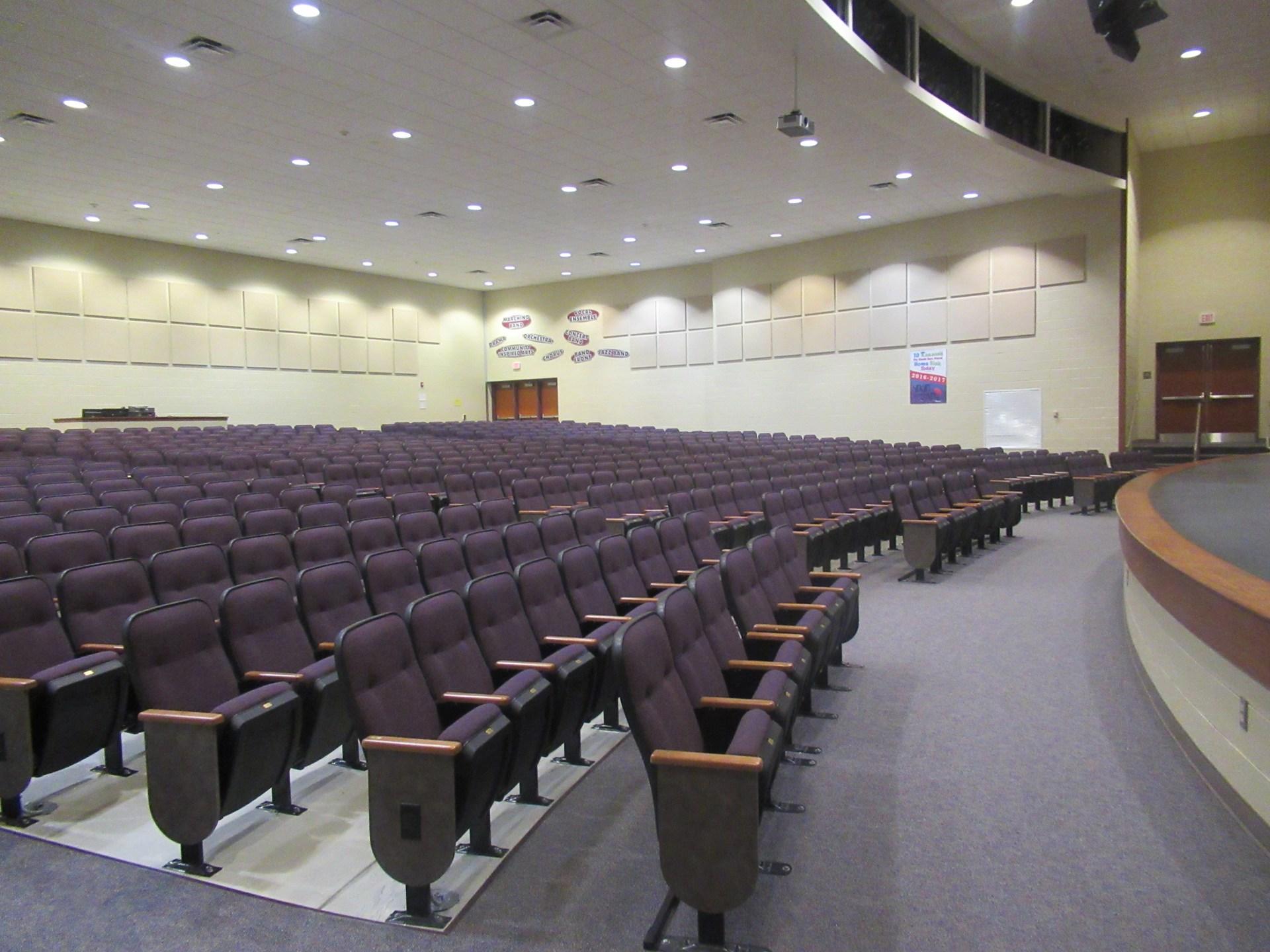 AAJHS Auditorium Seating