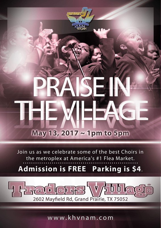 Praise in the Village Ad
