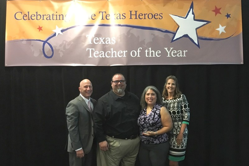 Region 3 Secondary Teacher of the Year honored at luncheon Thumbnail Image