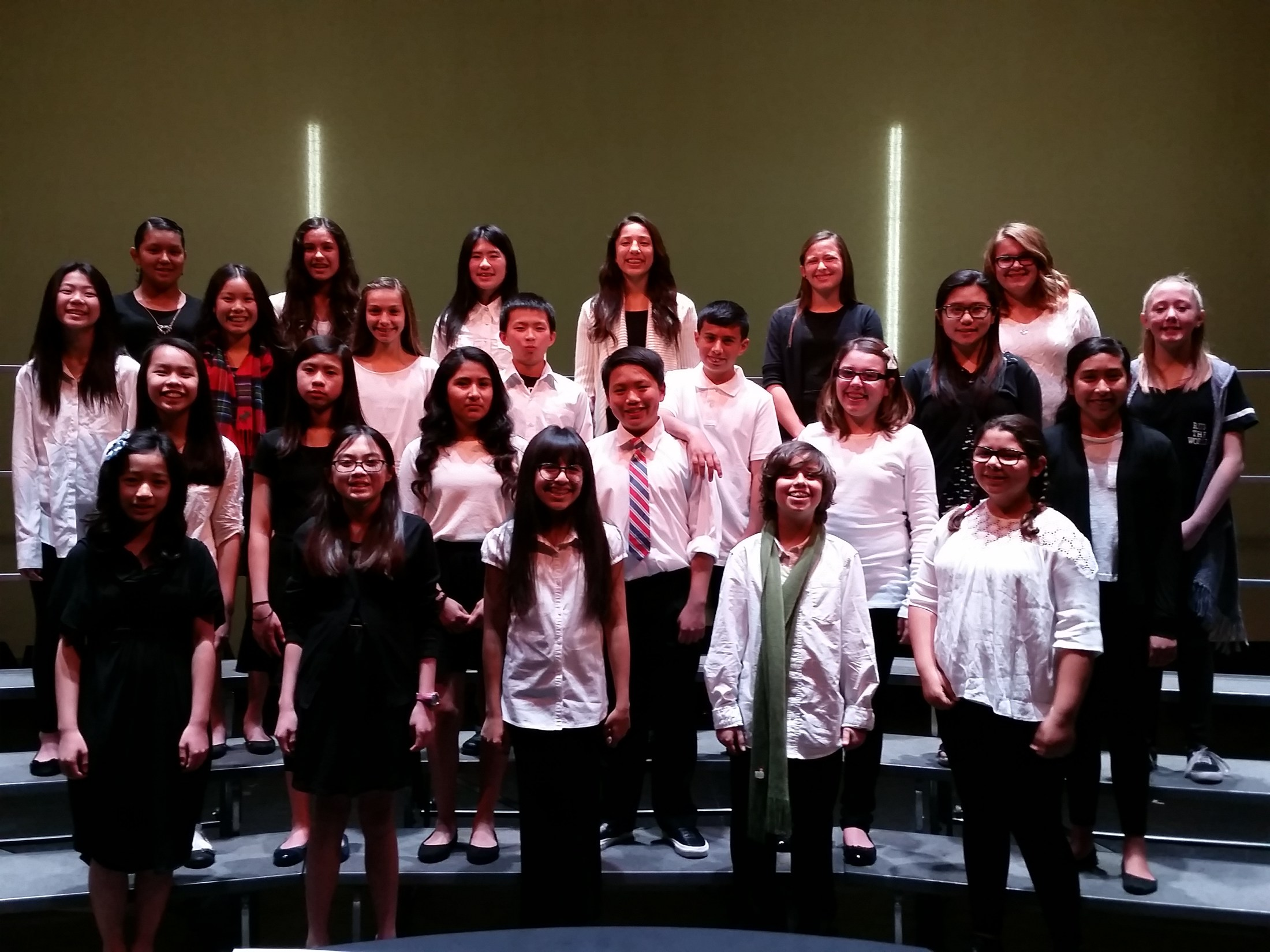 Jefferson Middle School Choral Program – Rachel Chew – Jefferson