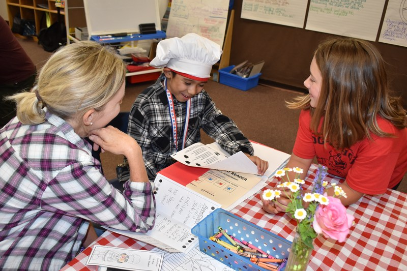 EVE Students Serve Reading Growth Scores for Dessert Featured Photo