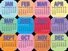 calendar visual
