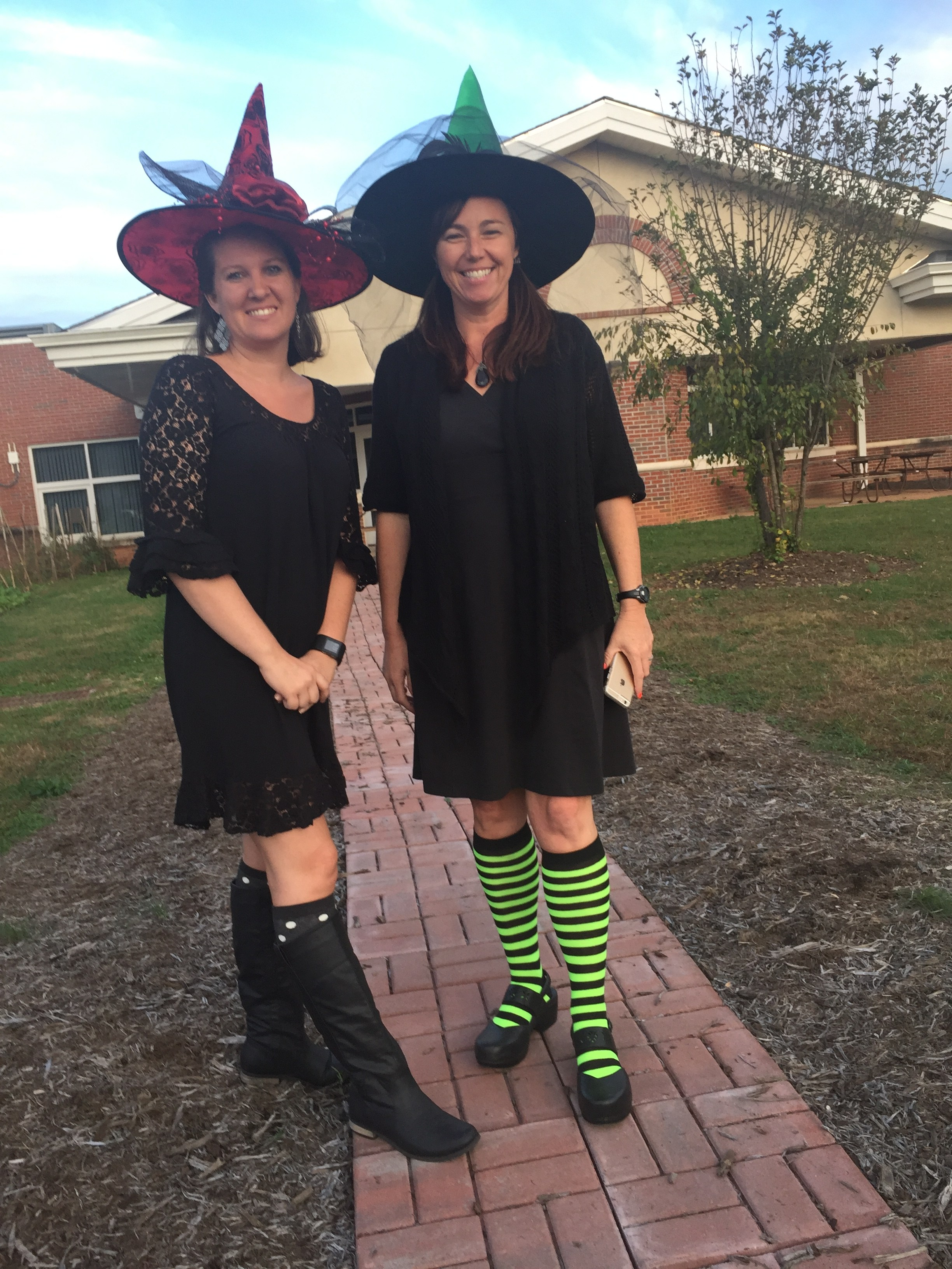 NC-PreK Staff dressed up for Halloween