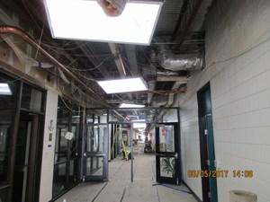 Hallway in C.C. Hardy