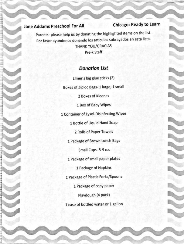 School supply lists! Thumbnail Image