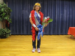 Teacher of the year Aurora Estrada