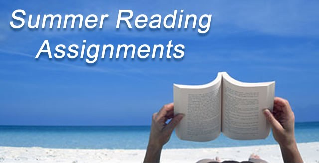 Summer Reading Assignments (All Students) Featured Photo