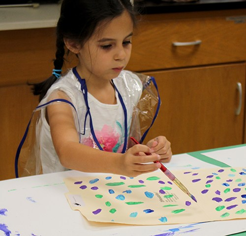 Paint and get your 'art' on in the Big Apple Art Camp!