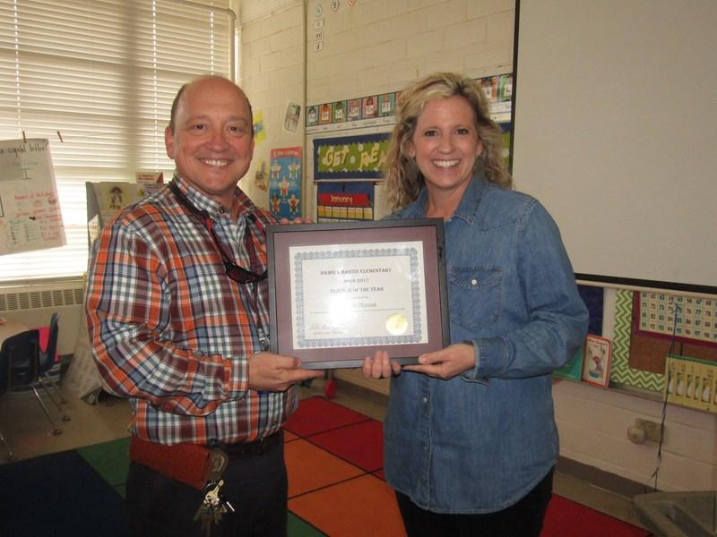 Mrs. Jennifer Hutson Chosen as Martin Teacher of the Year! Thumbnail Image