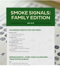Smoke Signals: Week of May 14 Featured Photo