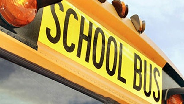 photo of part of a school bus