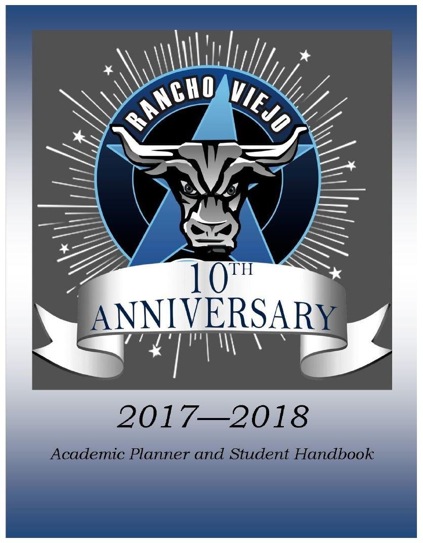 RVMS Student Handbook  17-18 page 1