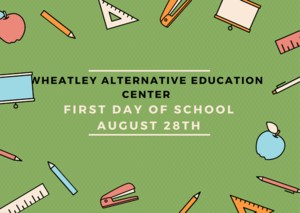 Wheatley First Day of School image
