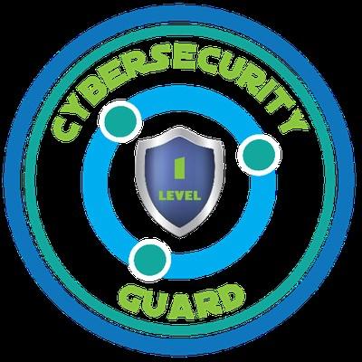 Cybersecurity Guard Badge