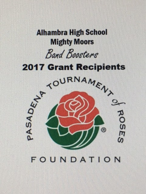 AHS Band Boosters Win Tournament of Roses Grant! Thumbnail Image