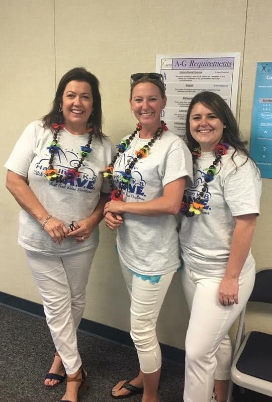 Mrs. Robilotta, Mrs. Stillman, and Ms. Egbert.