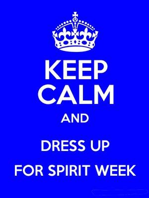 Dress Up For Spirit Week
