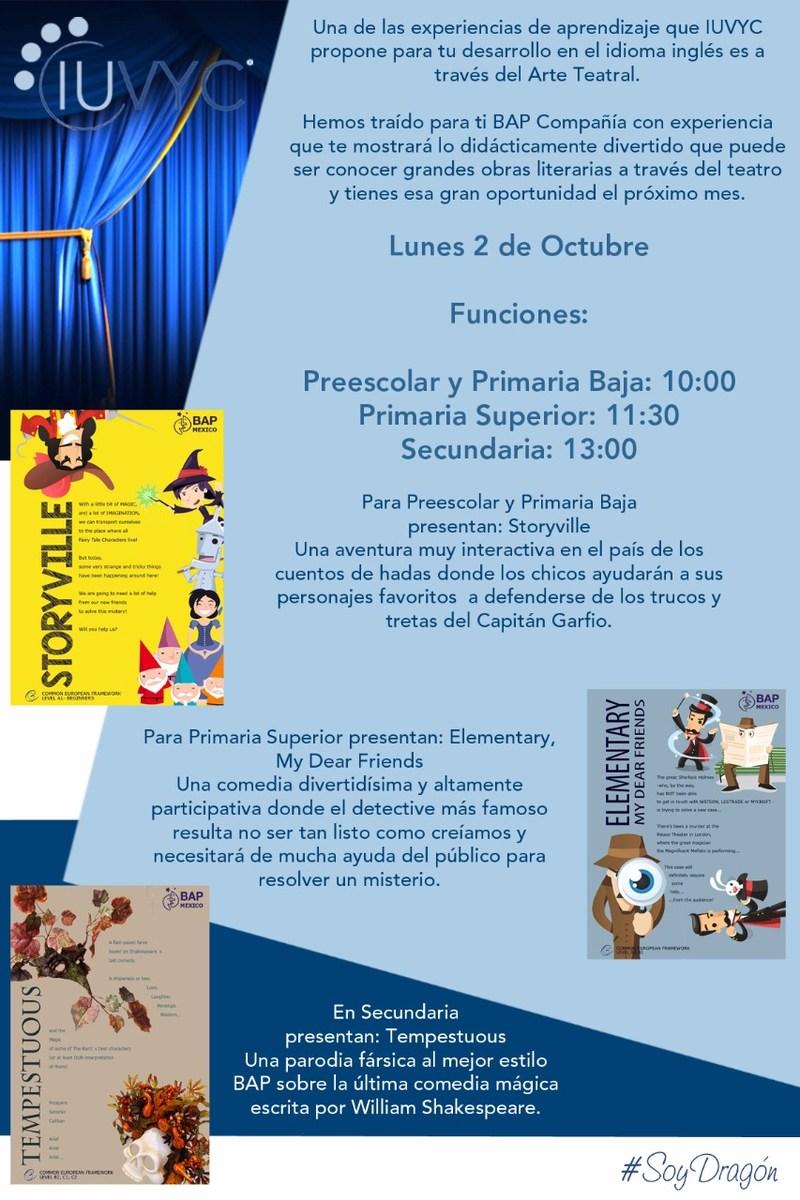 Poster de obras de teatro