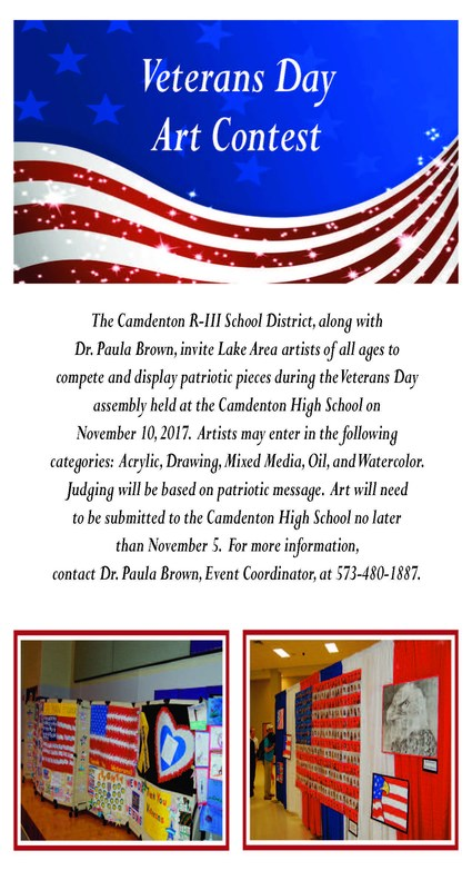 Veterans Day Art Contest Featured Photo