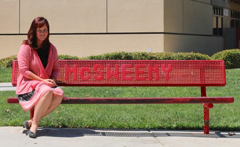 The new principal of McSweeny Elementary, Ekko DePriest.