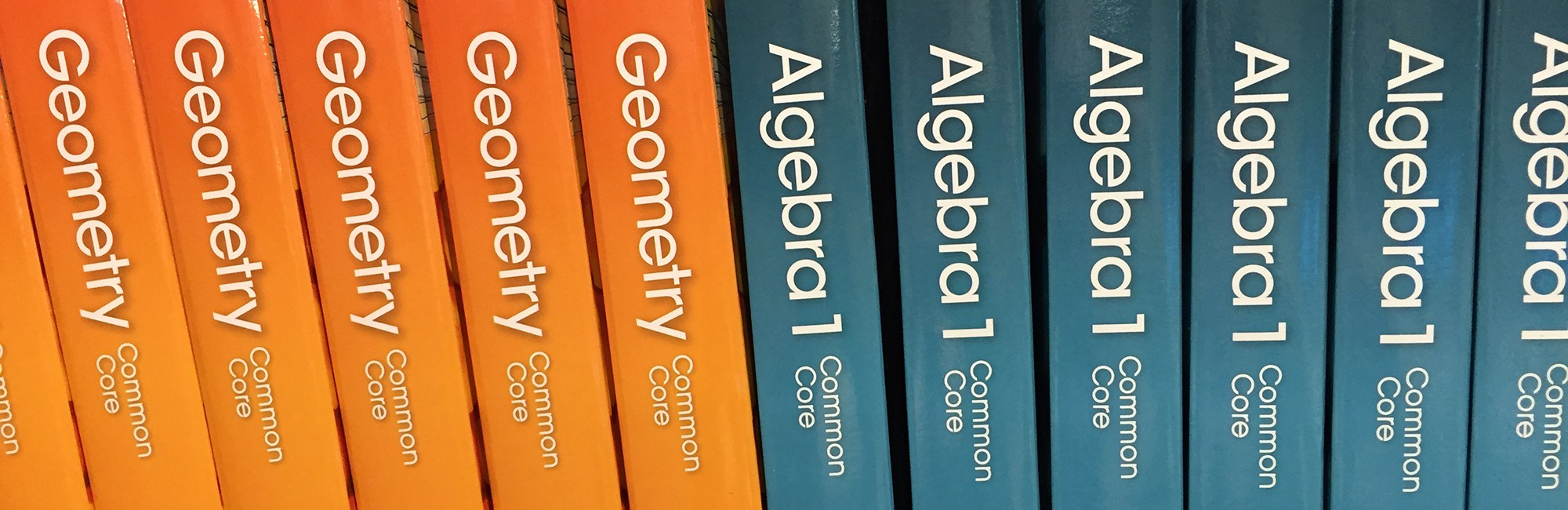 Geometry and Algebra textbooks