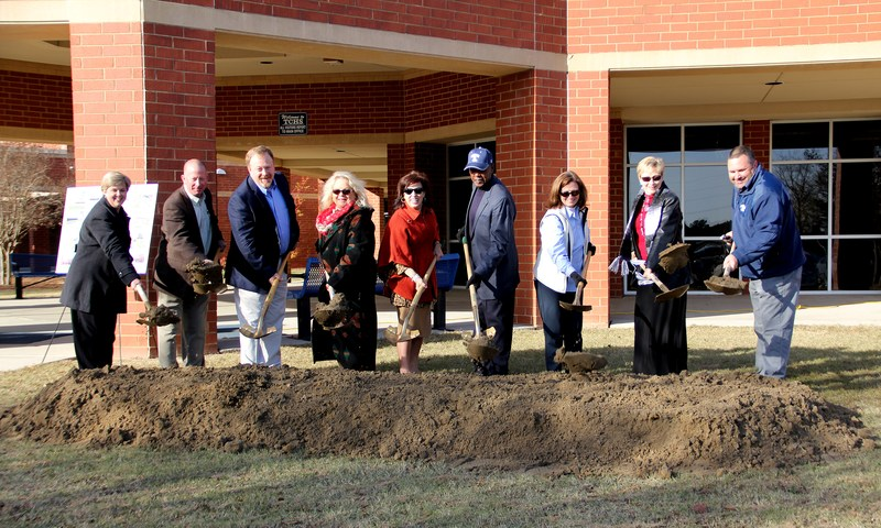 Groundbreaking at TCHS Featured Photo
