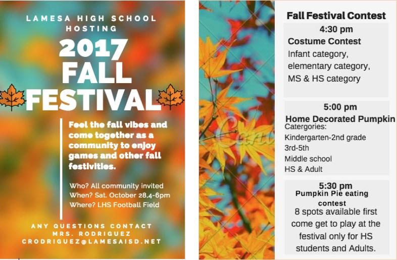 Lamesa High School Fall Festival Thumbnail Image
